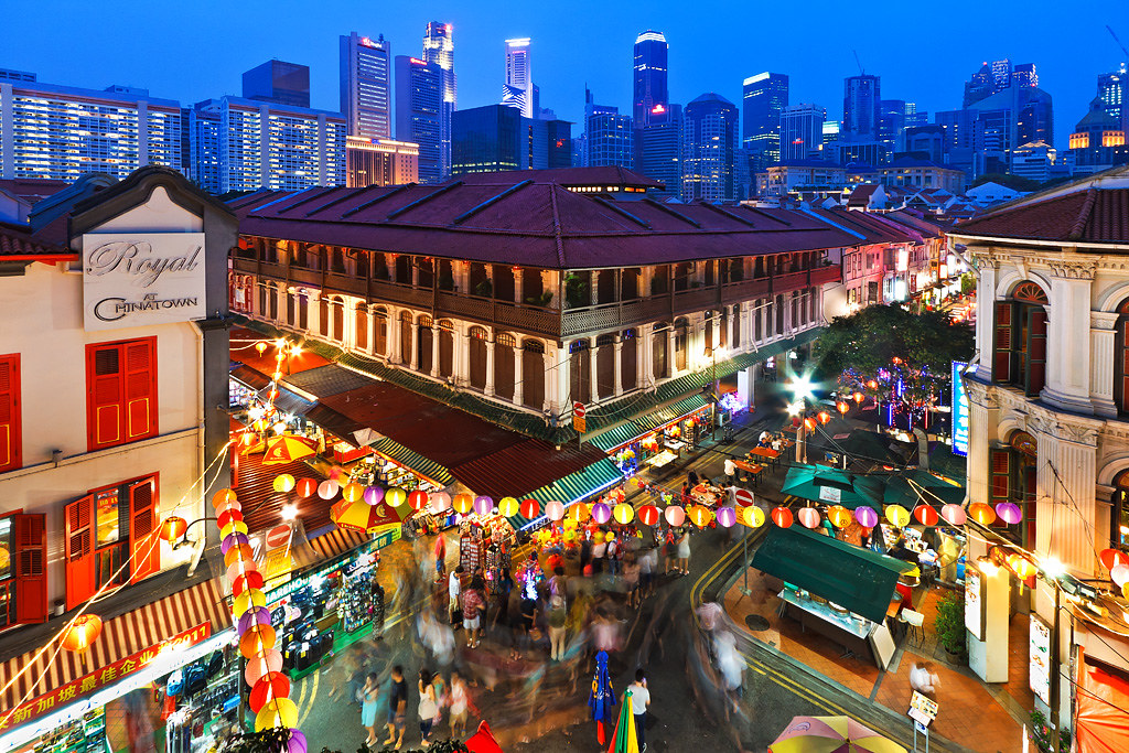 Night at Chinatown (Singapore) | spintheday | Flickr