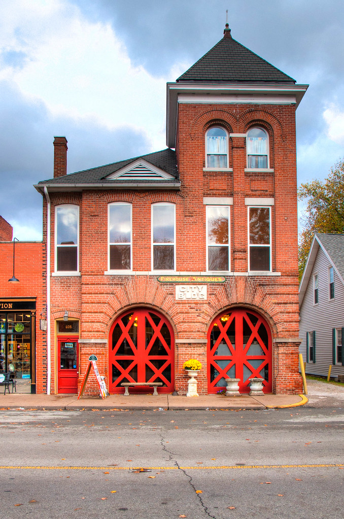 Old Fire Station, New Harmony, IN
