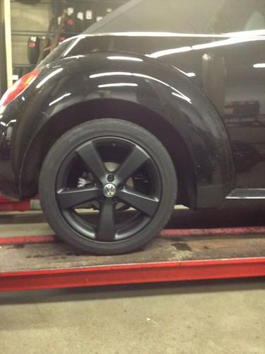 new beetle plasti dip wheels | by newbeetledriver