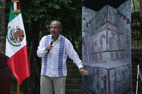 Presentación de los avances de los trabajos arqueológicos en Calakmul