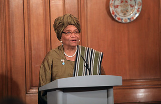 Liberian President | by Foreign, Commonwealth & Development Office