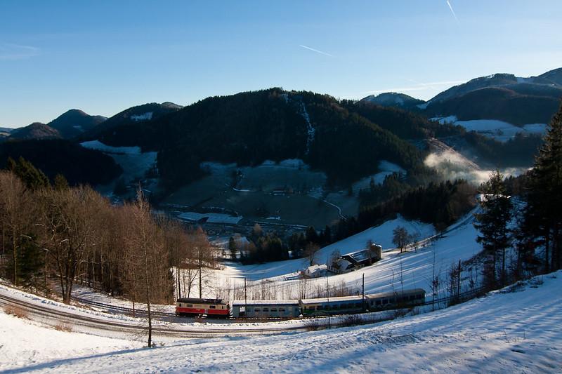 Blick nach Laubenbachmühle