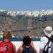 Arriving at Santorini