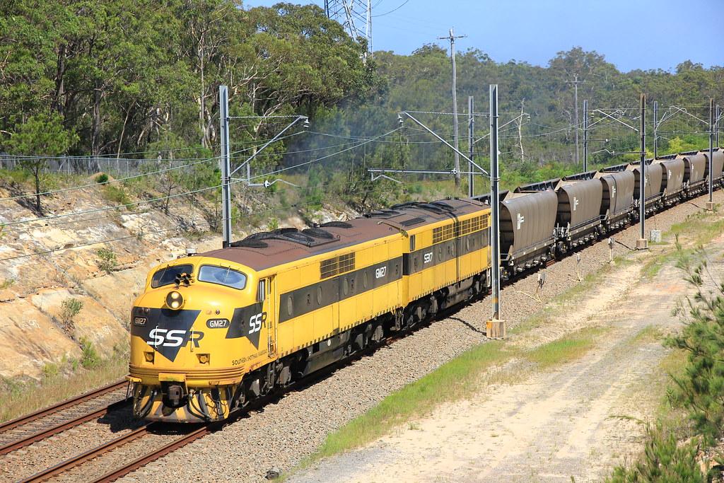 17/01/2012 GM27+S317 2478 Wagon transfer @ Wyee by John  Hammett