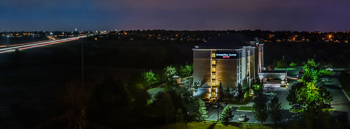 color summer nikon d810 boury pbo31 2016 september travel denver colorado over view panoramic large stitched panorama westminster lightstream night dark hotel highway 36 traffic black suites marrott