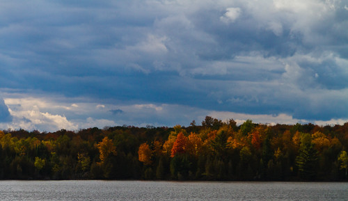 autumn trees sky lake ontario fall colors leaves colours ontarioyourstodiscover sigma18200 stgeorgeslake canoneos7d canon7d