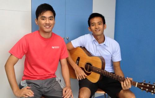 Guitar lessons Singapore Ari