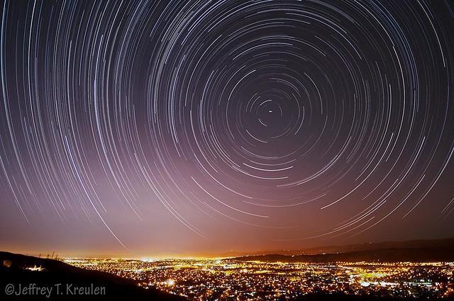 San Jose Star Trails