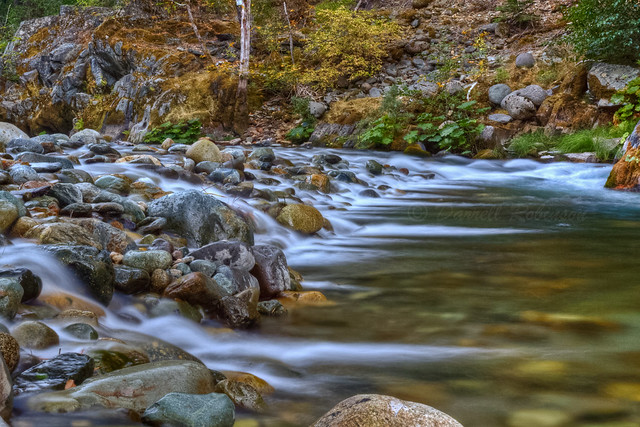 Early Fall on the North Yuba River