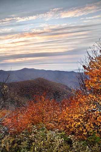 park morning blue autumn red orange sun mountain mountains color fall leaves yellow clouds turn sunrise way virginia north falls hills ridge parkway smokey carolina blaze appalachian peaks overlook appalachia