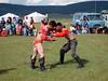 Mongolský zápas u jezera Chovsgol, foto: Martin Vorel
