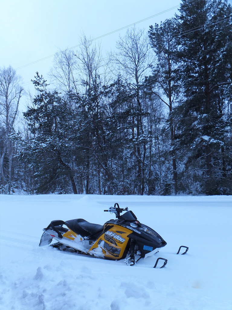 Snowmobile   Nearly 100 visitors attended the snowmobile ope