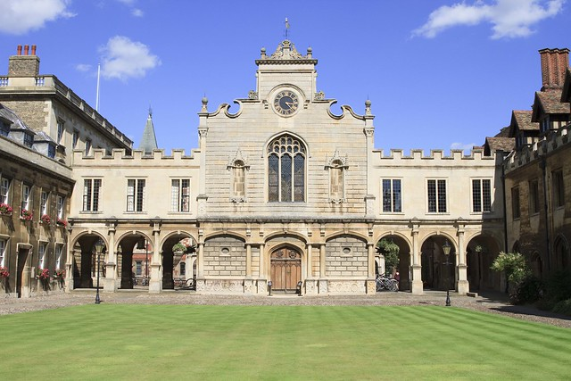 Peterhouse in Cambridge, England.