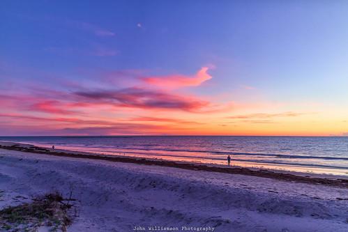 adelaide blue clouds landscape outdoor people semaphoresunset southaustralia water orange australia