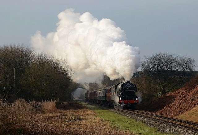 Flying Scotsman on the ELR