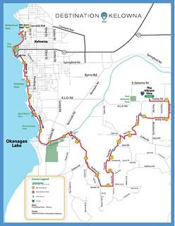 Kelowna Wine Country Half Marathon route 2016 | by Beth77