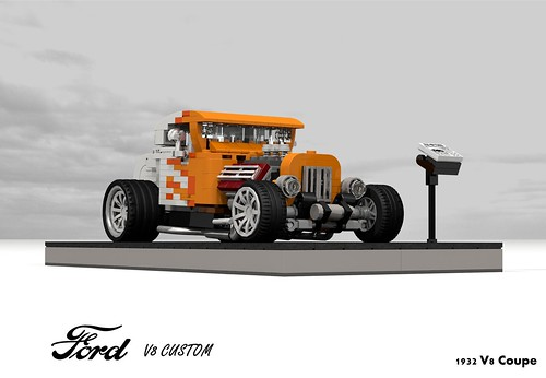 Ford 1932 V8 Coupe Rod