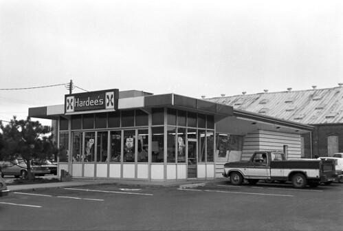 N_95_4_597 Hardees #1 Rocky Mount, NC, 1980's