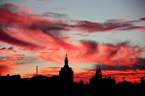 sunset sky portugal clouds europe lisboa lisbon estrela santacatarina frommywindow basílica bestcapturesaoi elitegalleryaoi