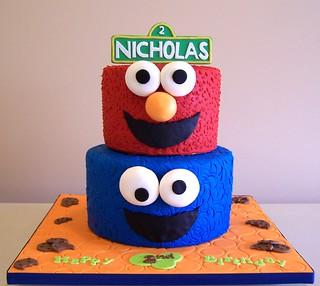 Astounding Sesame Street Beth Flickr Personalised Birthday Cards Petedlily Jamesorg