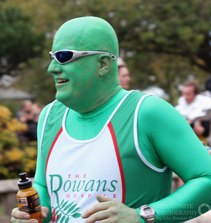 Great South Run - The Green Man | by Hexagoneye Photography