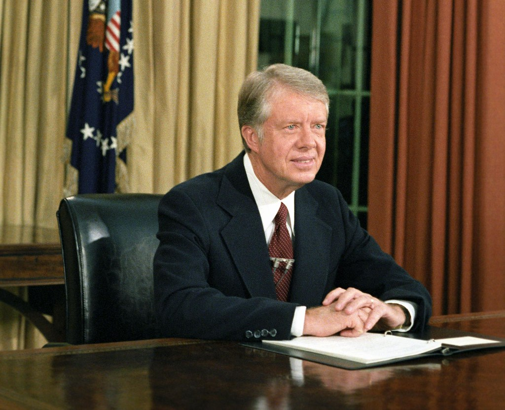 nlc08067 Carter Color CR | nlc08067.5 President Jimmy Carter… | Flickr