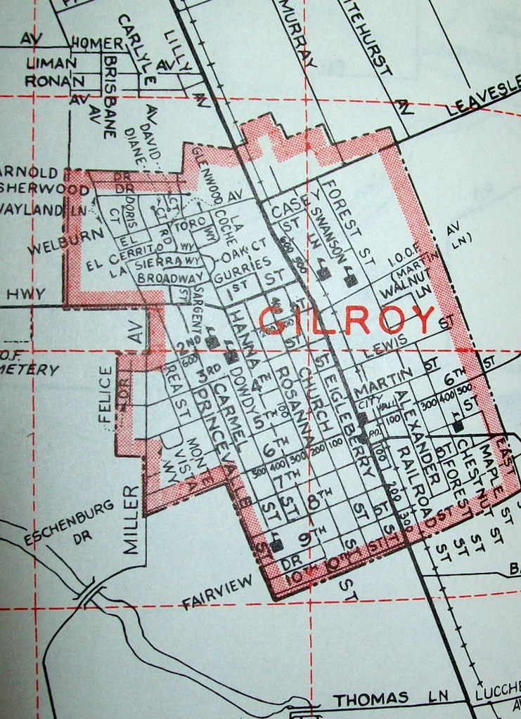 Gilroy, Santa Clara County CA (Sept 1958) | Map by Thomas Br ... on santa cruz county schools map, gilroy garlic festival, gilroy dispatch most wanted, san jose map, gilroy winery, gilroy weather, city of sunnyvale zoning map, los angeles map, hacienda ca map, gilroy wine trail, california ca map, gilroy city, orangevale ca map, gilroy california, gilroy water park, astoria ca map, pismo beach ca map, el sobrante ca map, rocklin ca map, gilroy quest,