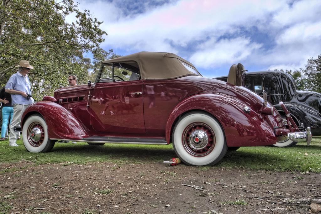 1937 Packard 115C Convertible | Steve Sexton | Flickr