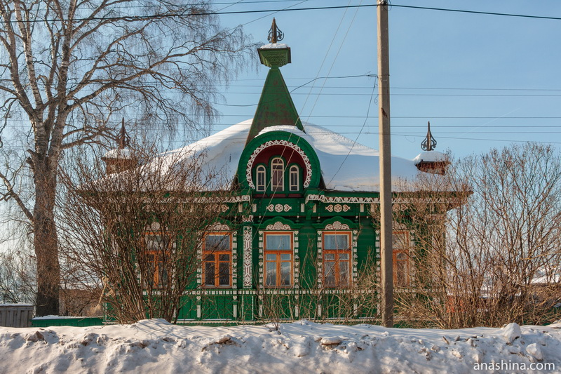 Дом Попова в Солигаличе
