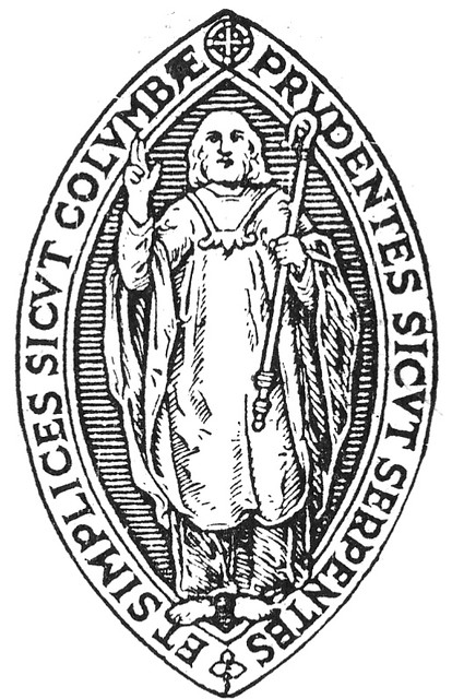 Crest used in 'The Columban'.