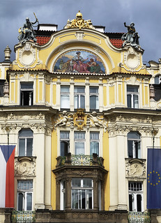 Art Nouveau building - Prague