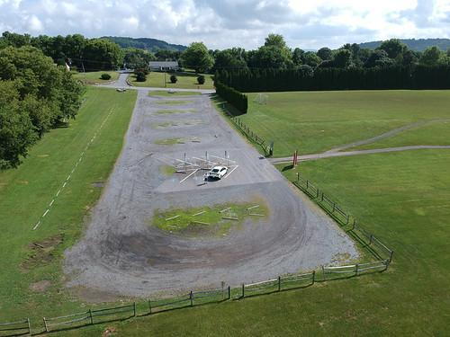 dji spark quadcopter drone cacoosing meadows park