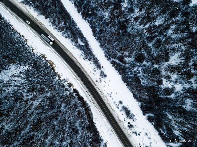 Tierra del Fuego desde el dron