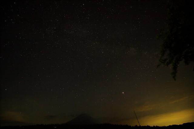 Mt.Fuji and the Milky Way