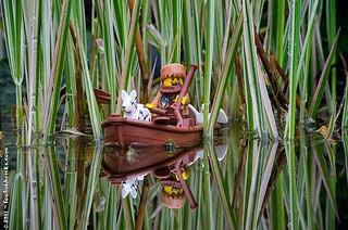 Row, row, row your boat   by Foolish Bricks