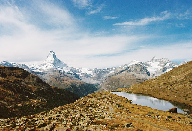 Three Views of the Matterhorn - 2/3