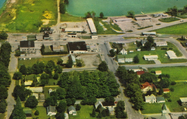 NW Leelanau Suttons Bay MI GREAT ALPINE VILLAGE VIEW Homes Shops Businesses Old Steamer Ferry and Bahles Coal Docks and Marina Churchs Schools and LOOK AT ALL THAT UNDEVELOPED PROPERTY3