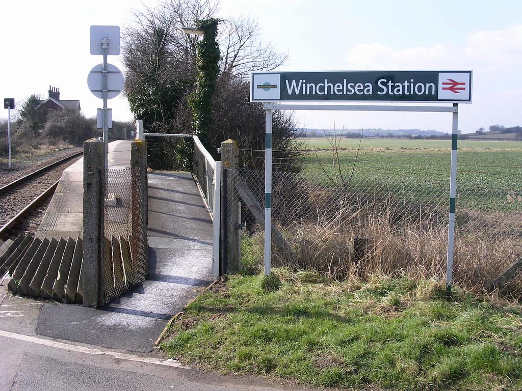 Winchelsea station Winchelsea to Hastings via Three Oaks walk