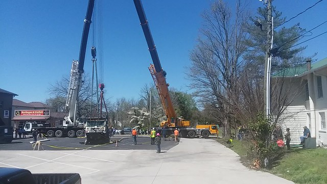 Parking lot collapse, Cookeville, Tennessee [Video] 3