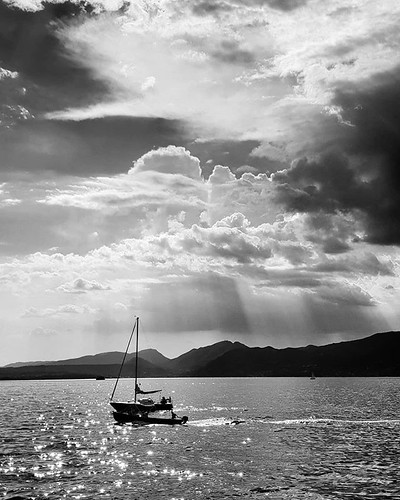 Board #boats #lake #garda #gardasee #landscape #italy #italia #igers #igersitalia #travelgram #photooftheday #picoftheday #sun #blackandwhite #bw #clouds #cloudy #awesome #sailing #water | by Mario De Carli