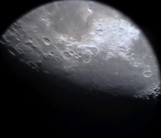 Moon Jun 30th 2018, sunset at Mare Fecunditatis and its Rimae