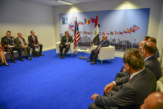 Secretary Pompeo Meets With Iraqi Prime Minister at NATO962584_6de7d9056c_o