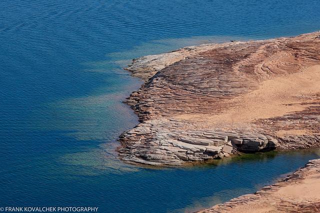 Landscape around Lake Powell, Page, AZ