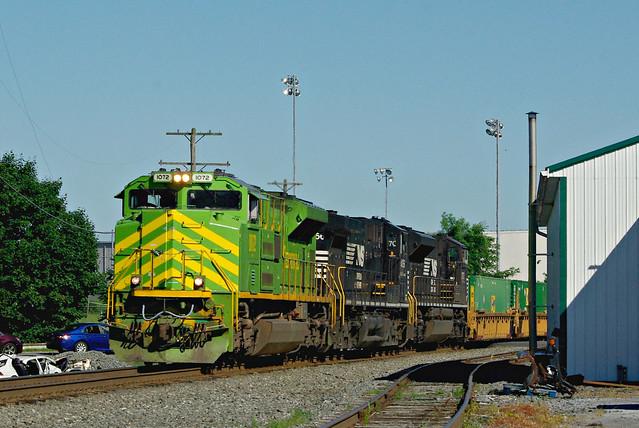 NS 1072  Illinois Terminal -NS 202