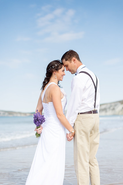 Wedding Shoot, Compton Beach, Isle of Wight - IMG_2483