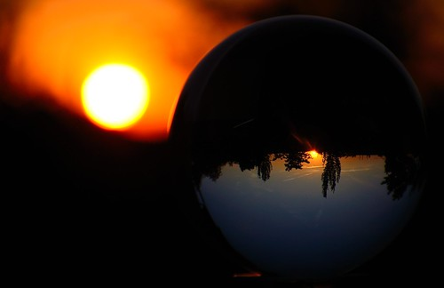 Sunset in a glass ball | by commander.chip