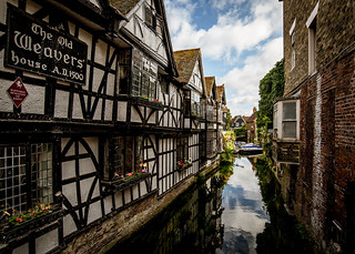 Canterbury river stour | by Adrian Snood