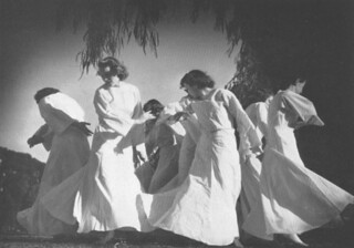 Members of the 1939 dance organization Orchesis