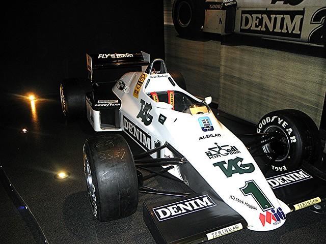 Keke Rosberg's 1983 FW08C from 1983 at the Williams Museum
