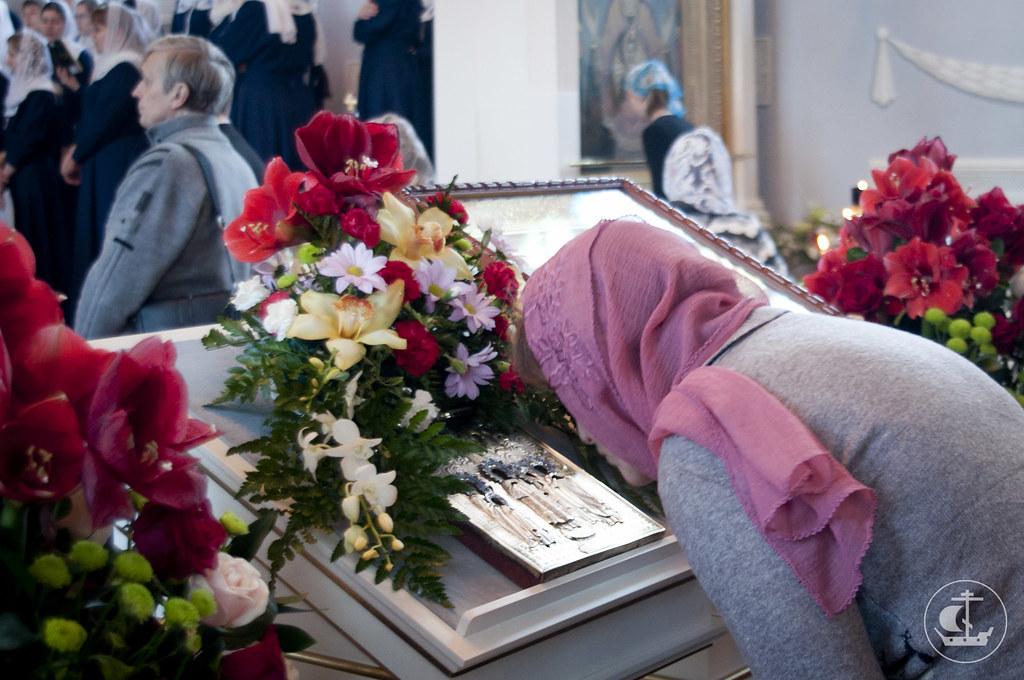 14 октября 2012, Литургия в академическом храме в день Покрова Пресвятой Богородицы